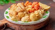 Фото рецепта Запечённая рыба с цветной капустой и бэби-морковкой
