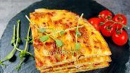 Фото рецепта Испанская тортилья с беконом на сковороде. Видео